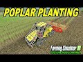 Farming Simulator 2017 Mods PLANTING POPLAR WITH NEW Case IH Quadtrac Forest