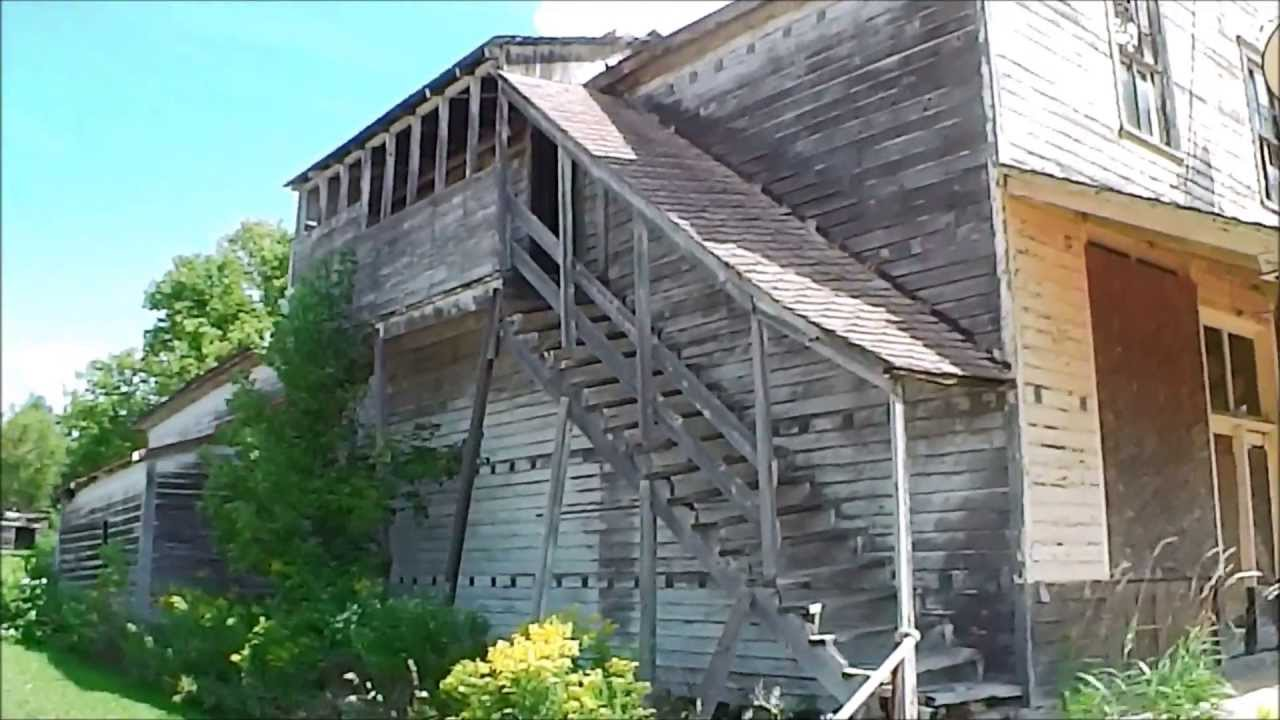 Mysterious abandoned buildings in michigan urban for Building a house in michigan