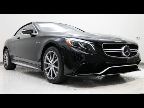 NEW 2019 Mercedes-Benz S-Class S 63 AMG® COUPE CABRIOLET 2105. NEW generations.