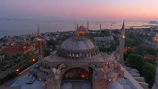 Sultan Ahmet Camii ve Ayasofya, Gün Batımı