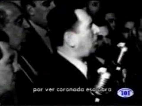 Discurso de Peron el 17 de Octubre 1945