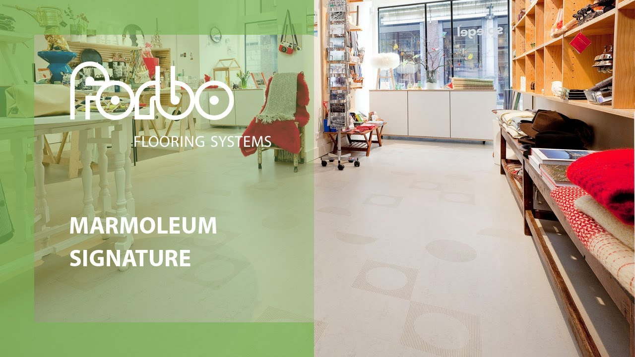 Spiegel-shop Forbo Flooring Systems Marmoleum Signature In Spiegel Retail Shop Amsterdam