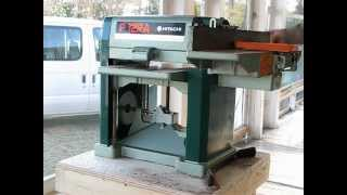 Hitachi P12ra, Thickness Planer, Jointer