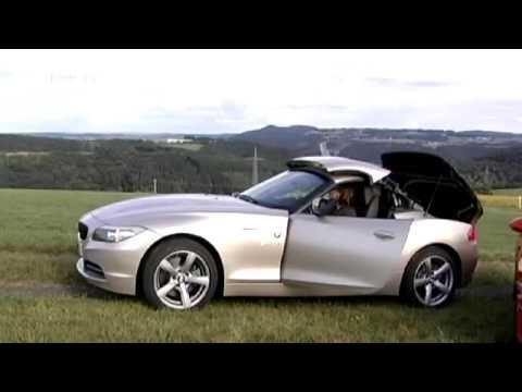 Motor Mobil Im Vergleich Porsche Boxster Bmw Z4