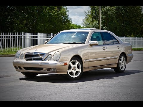 2000 Mercedes-Benz E320 W210 Start Up, Review, & Test Drive