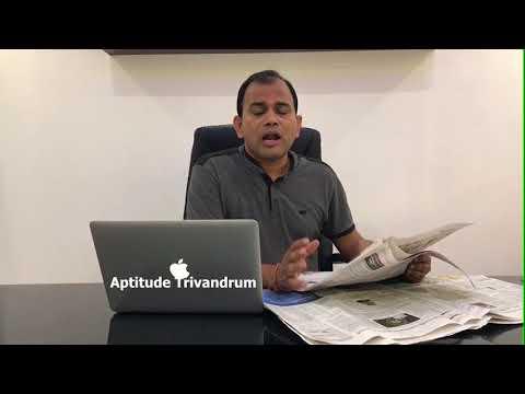Current Affairs in Malayalam (Hindu 19,20.04.3018)