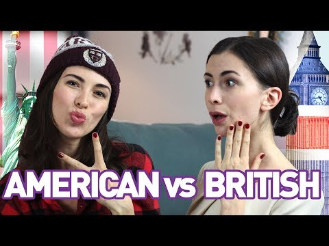 BRITISH vs AMERICAN ENGLISH