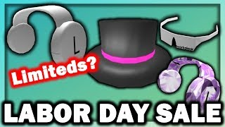 ROBLOX LABOR DAY SALE GUIDE 2019! LIMITEDS? EVERYTHING YOU NEED TO KNOW! (ROBLOX)