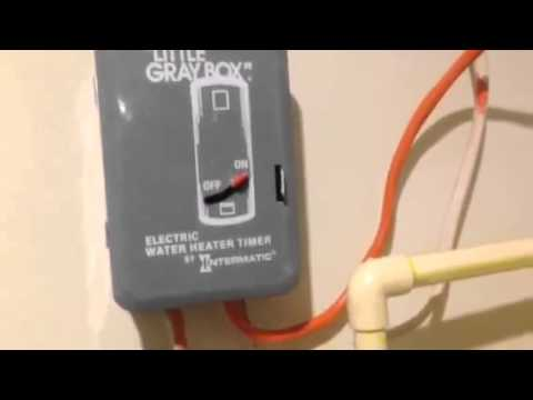 hot water tank plumbing diagram diy electric water heater timer - youtube #9
