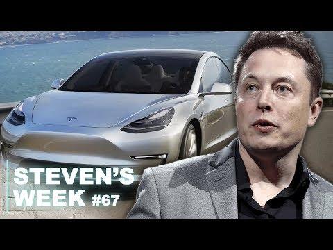 Steven's week 67: Amazon entering the Benelux, Tesla buying car manufacturing companies...