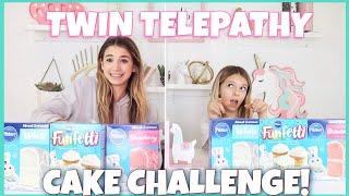 Twin Telepathy Cake Challenge | Quinn Sisters