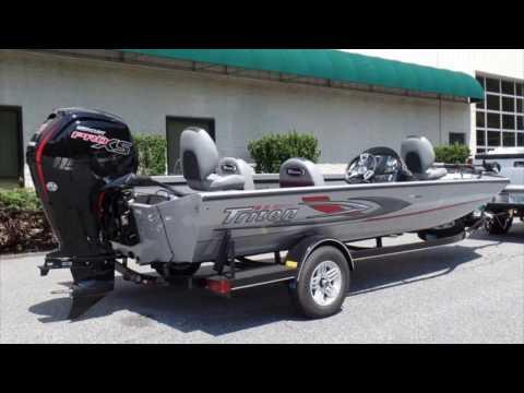New 2017 Triton 18TX Aluminum Bass Boat For Sale Near Charlotte, Winston-Salem, And Asheville, NC