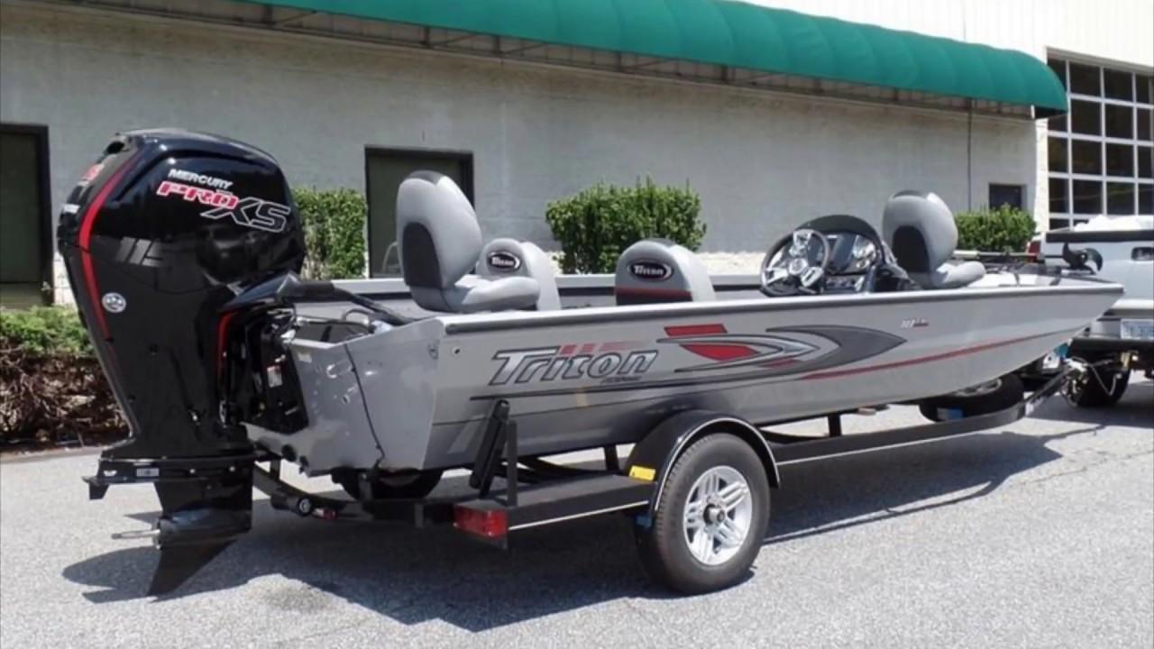 New 2017 Triton 18TX Aluminum Bass Boat For Sale near Charlotte