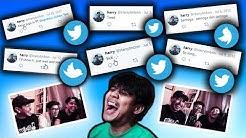 HARRY GAY H1V! React Twitter #3