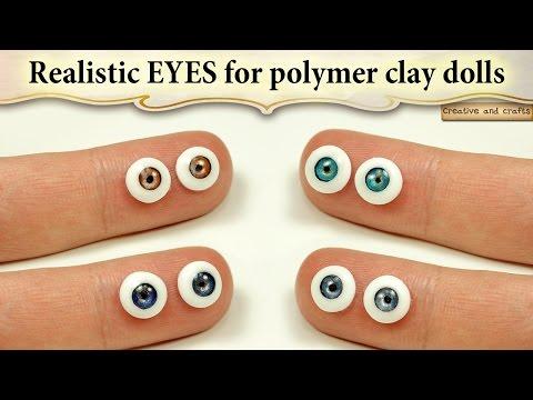Делаем большие, 'кукольные' глаза / макияж кукольные глаза