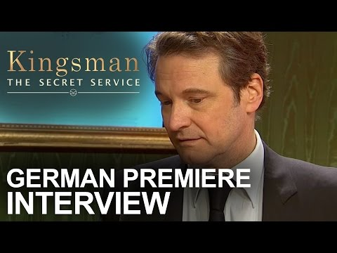 Kingsman: The Secret Service | German Premiere - Interview