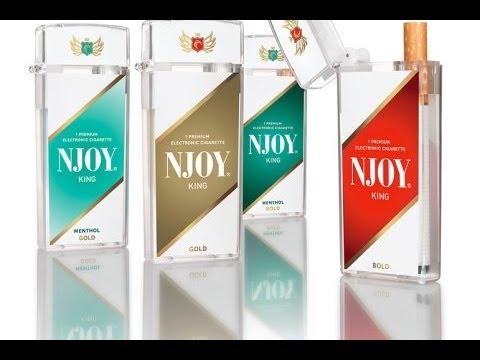NJOY Gold King Menthol Electronic Cigarette Review - Disposable