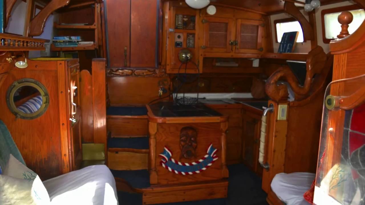 33 Foot Yorktown Sailboat HD 1080p