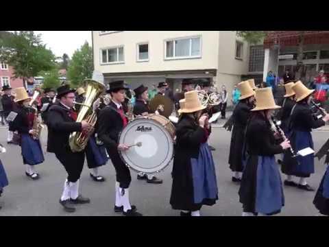 Meanwhile in the Black Forest | 150 Jahre Stadtkapelle Furtwangen 2018 Festumzug | Blasmusik Tracht