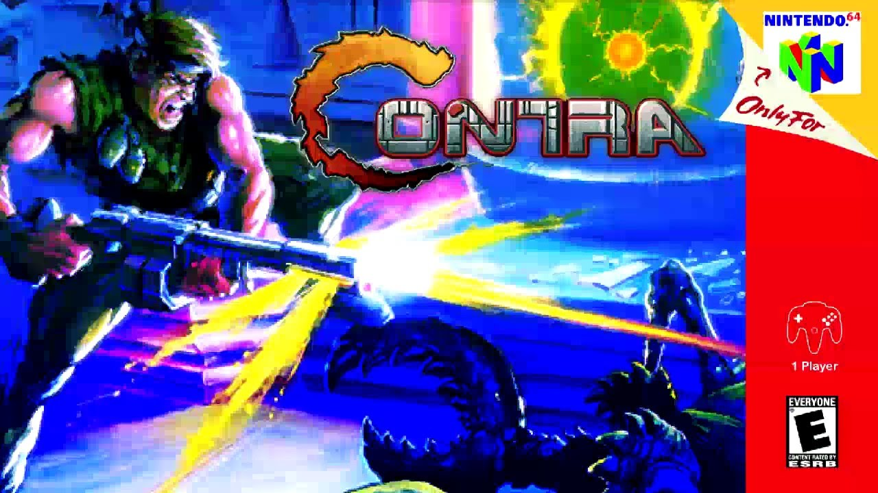 contra the jungle n64