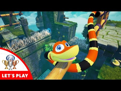 Snake Pass - Let's Play With A Snake