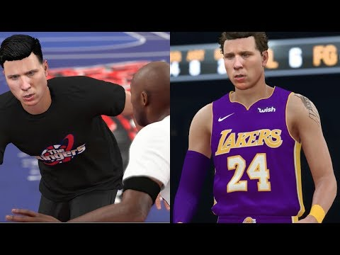 KOBE BRYANT COMES TO MY APARTMENT TO GIVE ME HIS RETIRED NUMBER! NBA 2K18 My Career