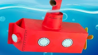 Awesome Crafts with Cartons - Submarine, Boy & Cow Backpack | Simple DIY Ideas