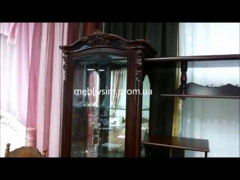 Стенка для гостиной Виктория. Стенка TY8892 Vilga