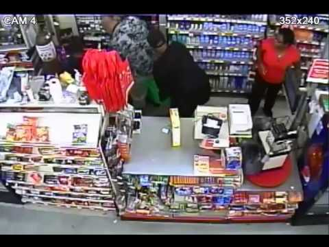 Family Dollar Robbery Detroit, Sept. 22, 2016