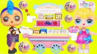 Punk Boi + JOJO SIWA LOL Surprise Open Candy Cart