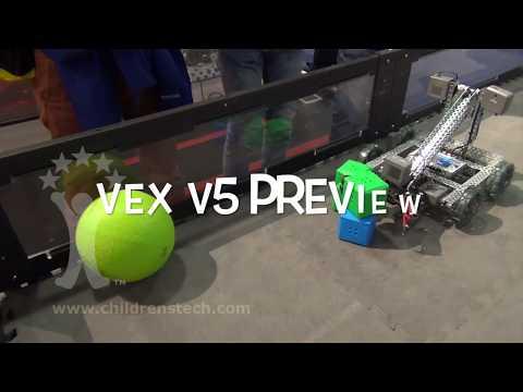 VEX EDR V5 System -- CES 2018 Preview