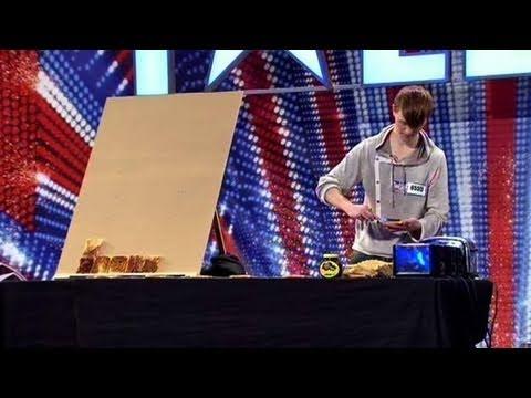 Nathan Wyburn - Britains Got Talent 2011 audition - itv.comtalent - UK Version