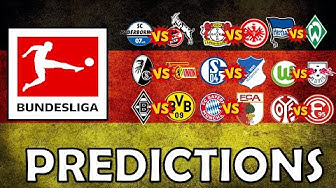 My Bundesliga Predictions Week 25