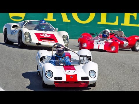 Replay! Finals Day 1 - 2017 Rolex Monterey Motorsport Reunion!