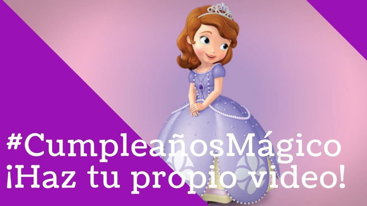 Feliz cumpleanos princesa alison