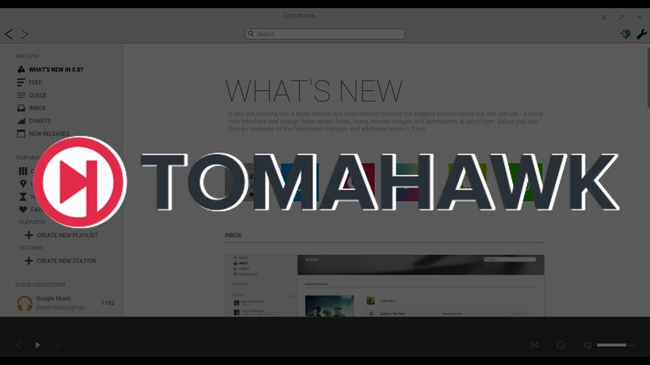Tomahawk Music Player For Linux, Android, Windows & OSX - Tech By DMG