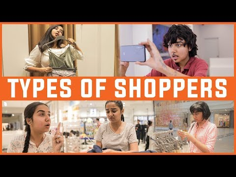 Types Of Shoppers In Every Mall   MostlySane