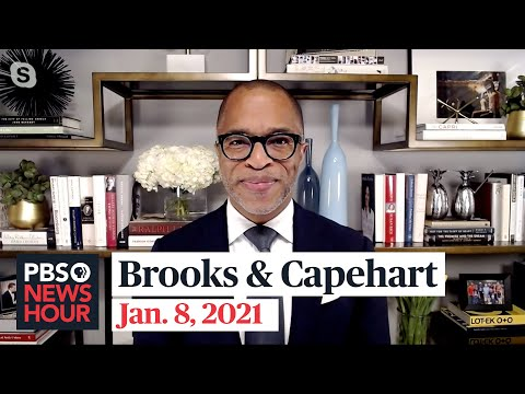Brooks and Capehart on the Capitol attack and Trump's impeachment