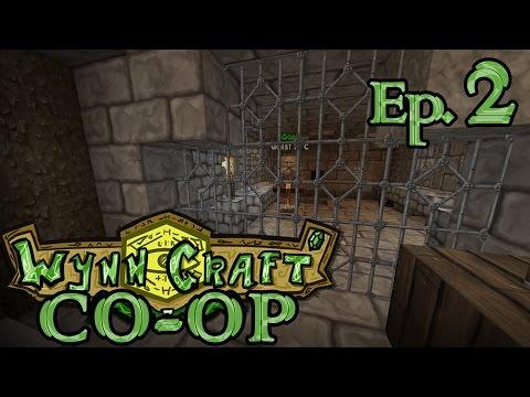 WynnCraft Co-Op w/ Tiger Ep. 2: Cakes & Prison Breaks