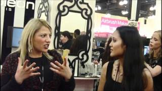 Napolean Perdis IMATS LA 2011 Exclusive Interview with Rebecca Prior Thumbnail