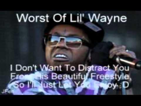 Worst Of Lil Wayne