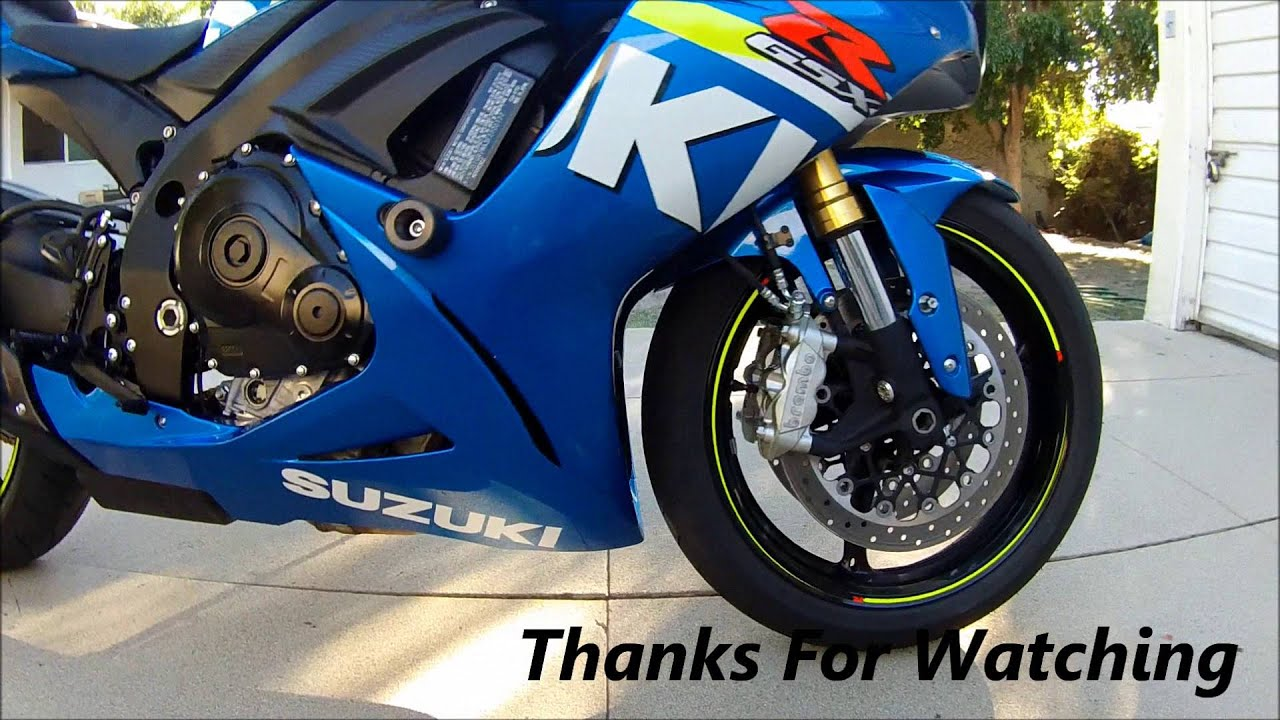 How To Install Yoshimura Frame Sliders 2015 GSXR 750 - YouTube