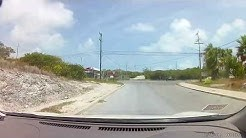 Driving in Providenciales, Turks and Caicos