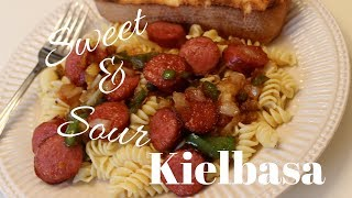 Dinner Idea: Sweet & Sour Kielbasa Recipe