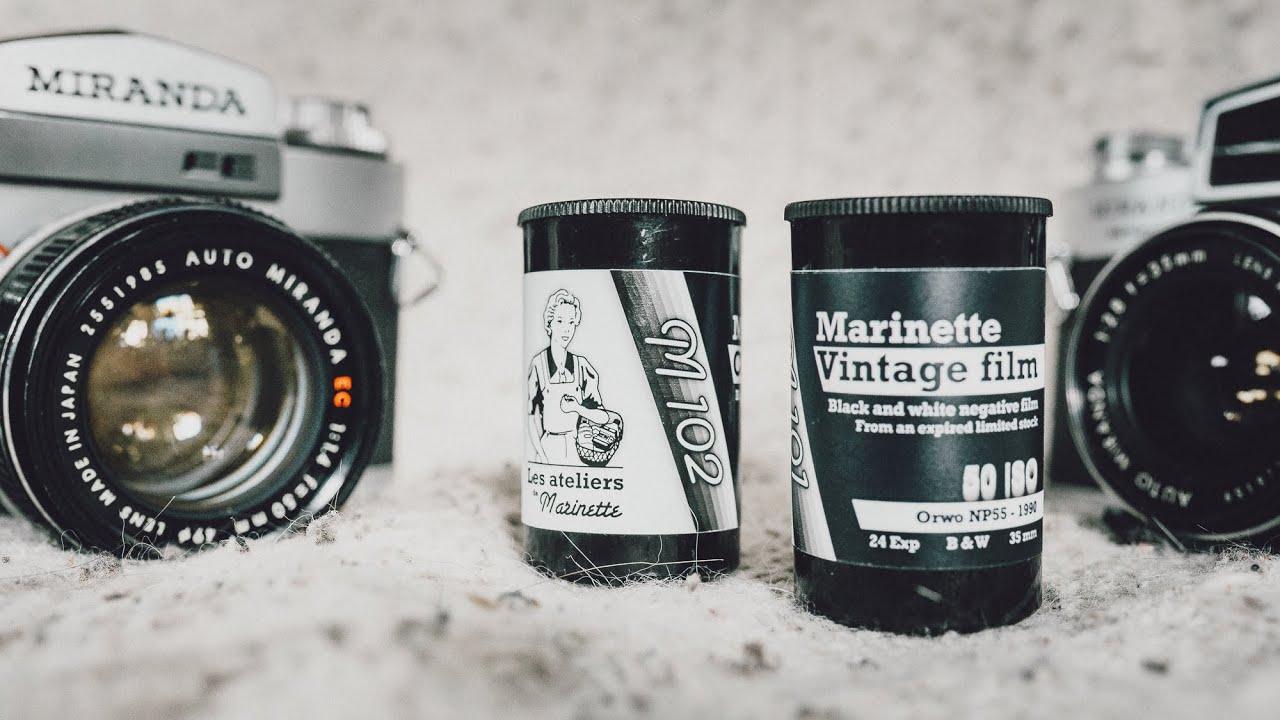 Deux NOUVEAUX FILMS ARGENTIQUES | Marinette M101 & M102