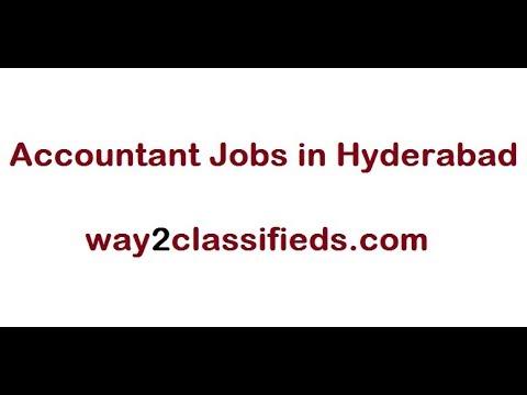 Accountant Jobs in Hyderabad