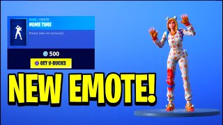 "*NEW* ""MIME TIME"" Emote! Fortnite DAILY ITEM SHOP [December 10] RARE CHRISTMAS SKINS RETURN!"