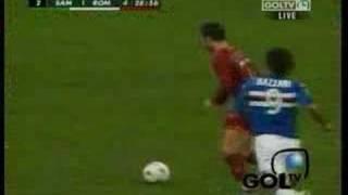 Sampdoria vs Roma - Totti Goal