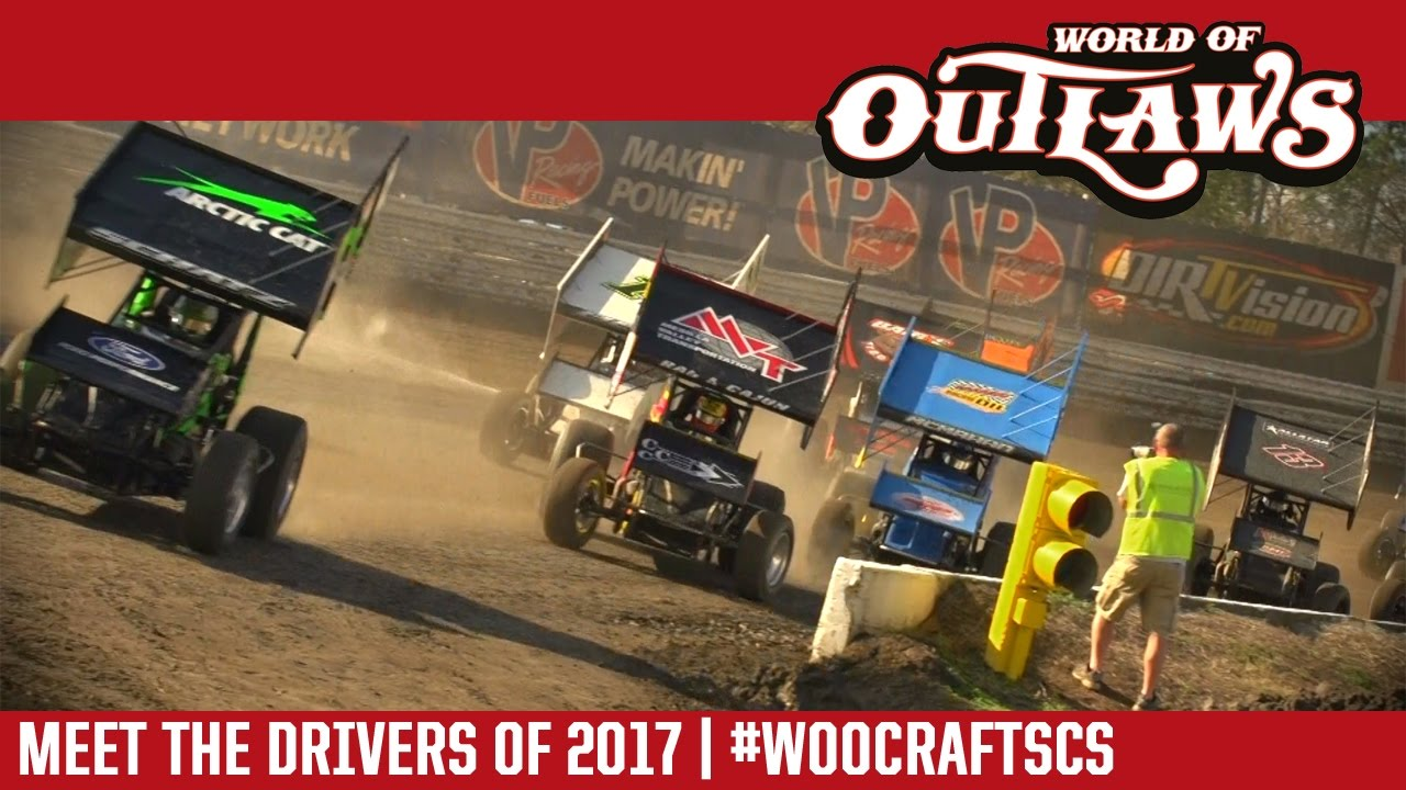 World of outlaws craftsman sprint car series meet the drivers of 2017