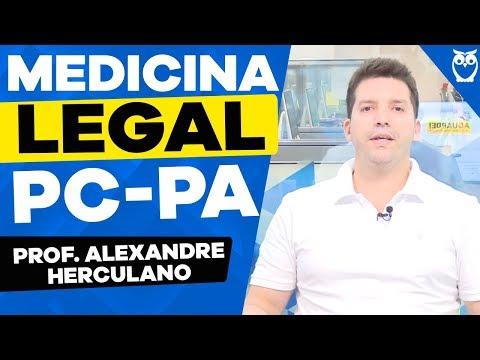 PC-PA - Aula de Medicina Legal com Prof. Alexandre Herculano